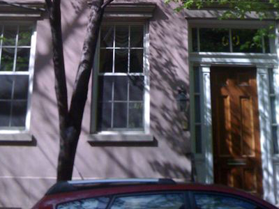 69 Bedford Street, site of William Burroughs' apartment